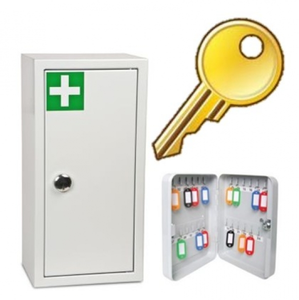 Medical & Key Cabinets