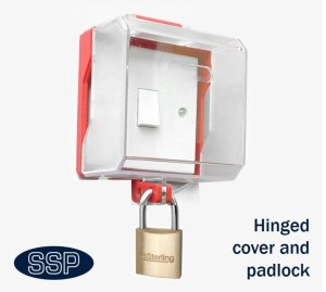 Hinged Locking Switch And Single Socket Cover Ssp Direct