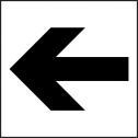 Left Arrow Sign