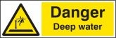 Danger Deep Water Warning sign