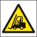 Forklift symbol sign