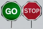 Stop/Go Sign