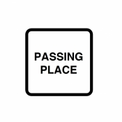 Passing Place Signs (822)