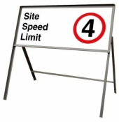 Site Speed Limit Self Standing Sign