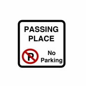 Passing Place No Parking