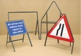 Sign frame 1050x750mm 450mm legs (58759)