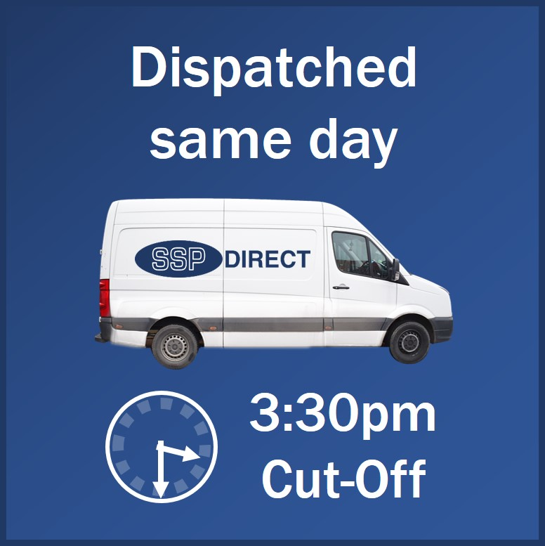 Next Day Delivery if ordered before 4.15pm