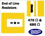 Gas Shut off/Call Point with EOL Resistors (Surface Mount) Yellow-01