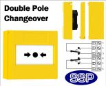 Gas Shut Down Button Double Pole Changeover (Surface) Yellow-11