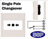 Isolate/Shut-Off Button single pole changeover (Flush) White-02