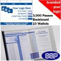 Personalised School Visitor Books One Colour (3000 Passes)