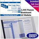 Personalised School Visitor Books Full Colour (1000 Passes)