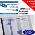 Personalised School Visitor Book One Colour (500 Passes)
