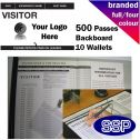 Personalised Visitor Book Full Colour (500 Passes)