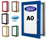 Choose Your Own Colour Lockable Poster Case (A0)