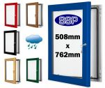 Choose Your Own Colour Medium Lockable Poster Case (508mm x 762mm)