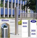 Chichester Stainless Steel Bollard (60mm x 900mm) Sub-Surface