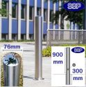 Removable Chichester Stainless Steel Bollard (76mmx900mm)