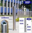 Removable Chichester Stainless Steel Bollard (108mmx900mm)