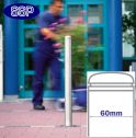 Removable Chester Stainless Steel Bollard (60x925mm) Sub-Surface