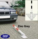 Zinc Grey Secure Drop Down Parking Post (Sub-Surface)
