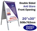 A Frame Snap Poster Frame Pavement Sign (20x30 inch)