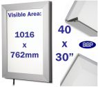 Edge Lit Light Box Snap Poster Frame (30 x 40 inch)