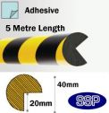 Extra Long Foam Impact Head Edge Protection (5m) Circular