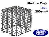 SSP Heavy Duty CCTV Cage | PIR Cage | Halogen Lamp Cage | Detector Cage (Medium) 30cm