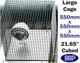 SSP Heavy Duty CCTV Cage | PIR Cage | Lamp Cage (Large)