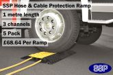 SSP Hose & Cable Protection Ramp 5 Metre Pack
