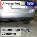 Semi Automatic Drop Down Post With Universal Key