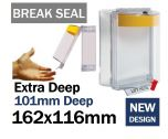 Break Seal Extra Deep power shut down button cover (C531) yellow