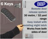 Remote Key Fob Door Entry System (Domestic/Small Office) 6 Key