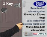 Locca One Key Fob Entry System (One Key)