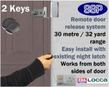 Locca One Key Fob Entry System (Two Key)