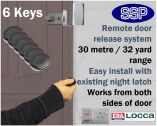 Locca One Key Fob Entry System (Six Key)
