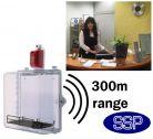 Monitored and Alarmed Defibrillator Defender (Internal Use)