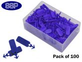 Pack of 100 Tamper Evident Seals For Tagging Pods