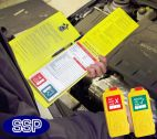 Fleet Vehicle Inspection Tagging Check Book 25 Self Duplicating Sheets