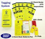 Ladder Tagging System Kit