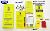 Scaffold Tower Tagging System Intro Kit