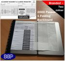 2000 Accident, incident and illness authorisation slips and register Two colour