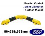 Collision Protection Bars (Steel Corners 638mm)