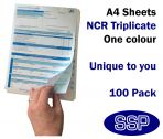 Bespoke One Colour Permit To Work Self Duplicating Forms Pack of 100