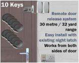 Locca Two Key Fob Entry System (Ten Key)