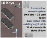 Wireless Key Fob Door Entry System (Home/Disabled/Office) 10 Key
