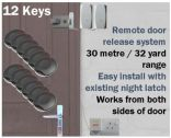 Remote Key Fob Door Entry System (Domestic/Small Office) 12 Key