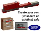 BloxSafe Adjustable Portable Hotel Safe | Drawer Lock