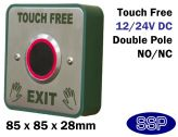 SSP Touch-free Low Profile Infra-Red Exit button with Timer